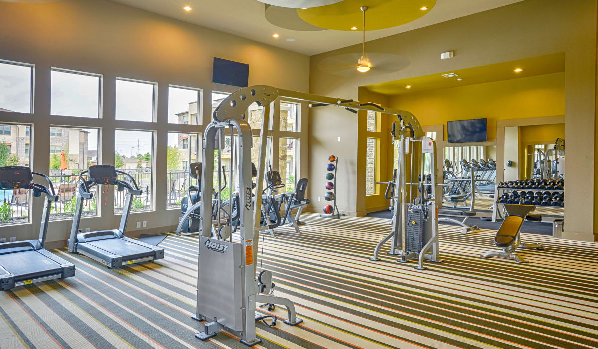 Machines from fitness center at Radius at Shadow Creek Ranch