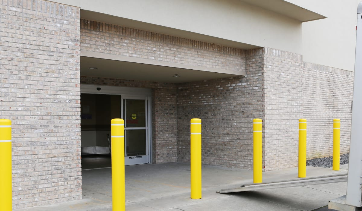 Office entrance at StoreSmart Self-Storage in Buford, Georgia
