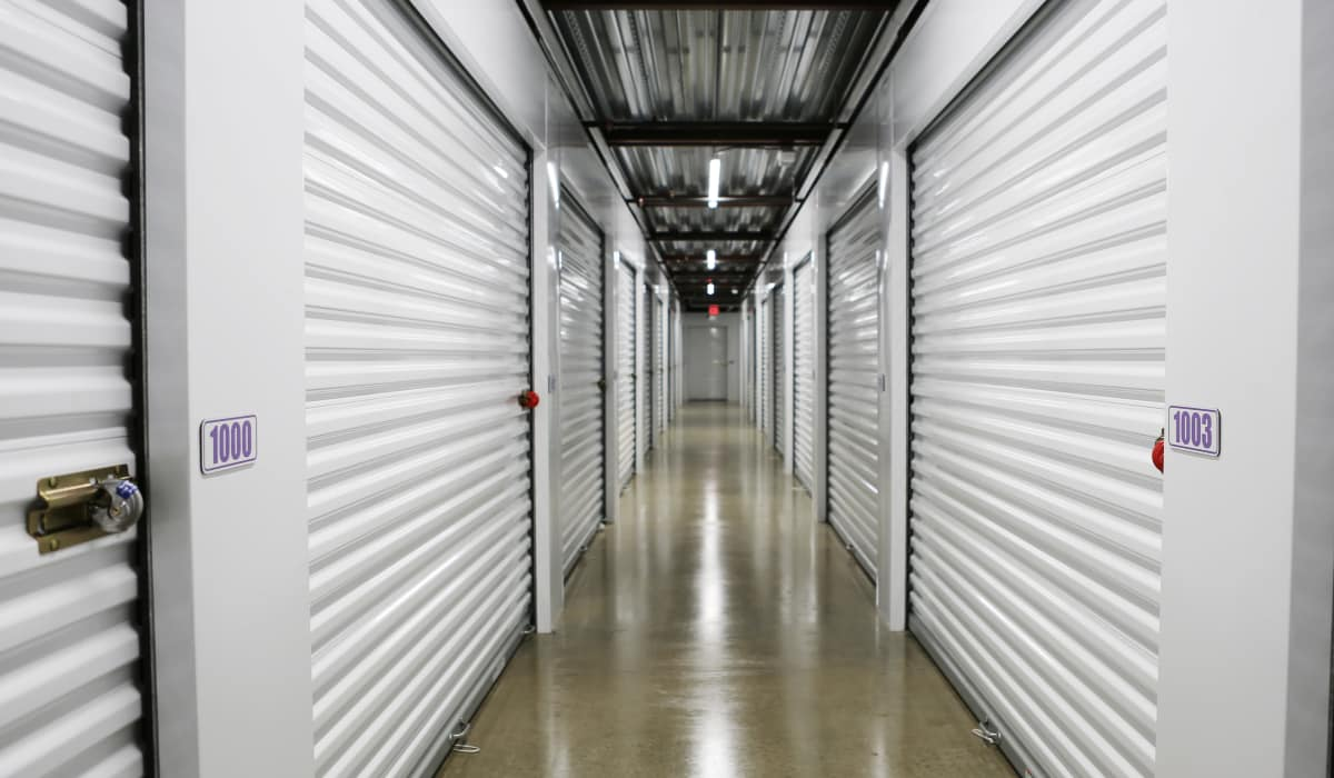 Interior units at StoreSmart Self-Storage in Loganville, Georgia