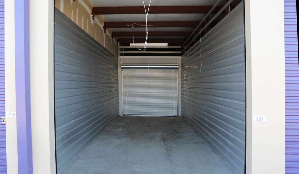 Open unit at StoreSmart Self-Storage in Englewood, Florida