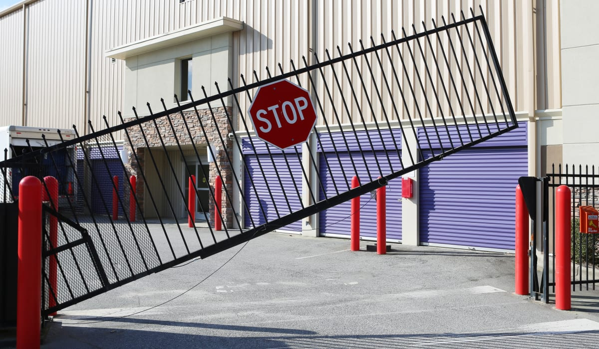 Gate at StoreSmart Self-Storage in Columbia, South Carolina