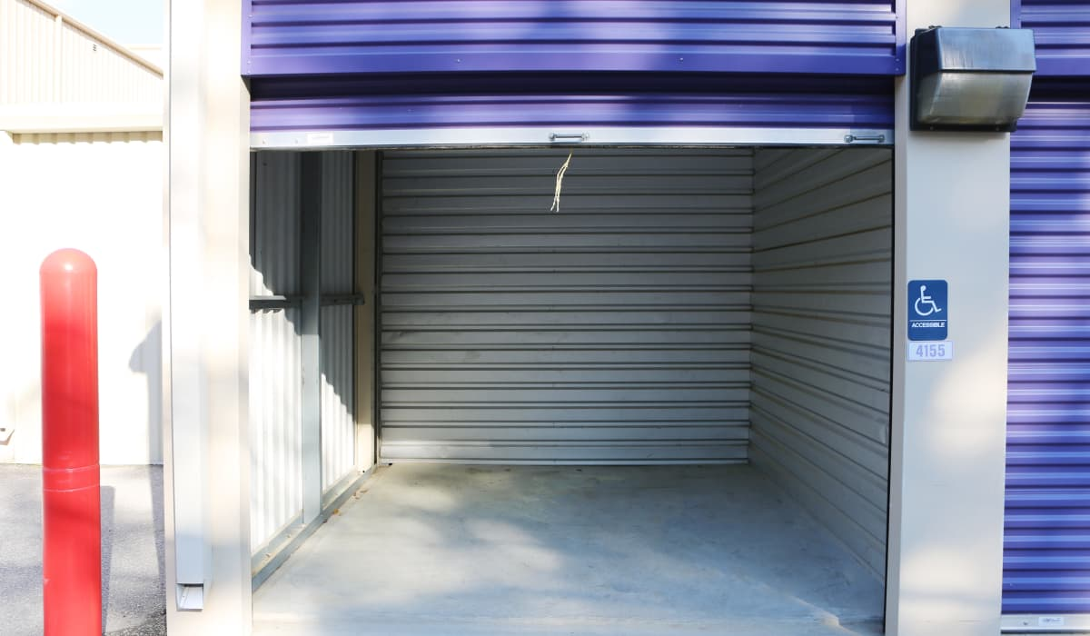 Open unit at StoreSmart Self-Storage in Columbia, South Carolina