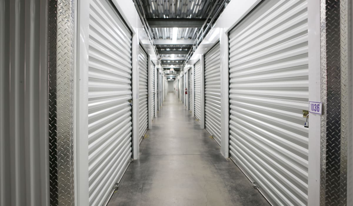 Indoor units at StoreSmart Self-Storage in Columbia, South Carolina