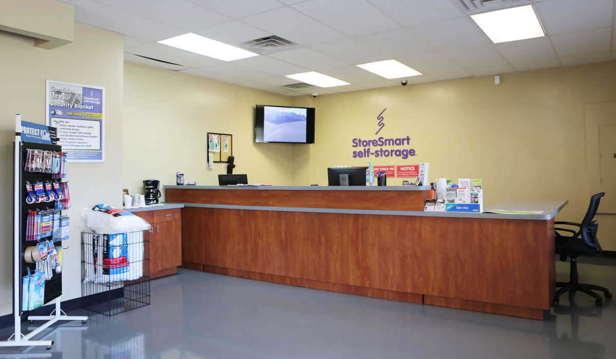 Desk at StoreSmart Self-Storage in Conway, Arkansas