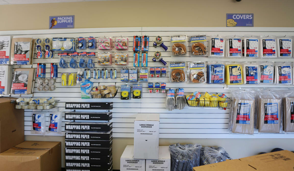 Moving materials for sale at StoreSmart Self-Storage in Conway, Arkansas