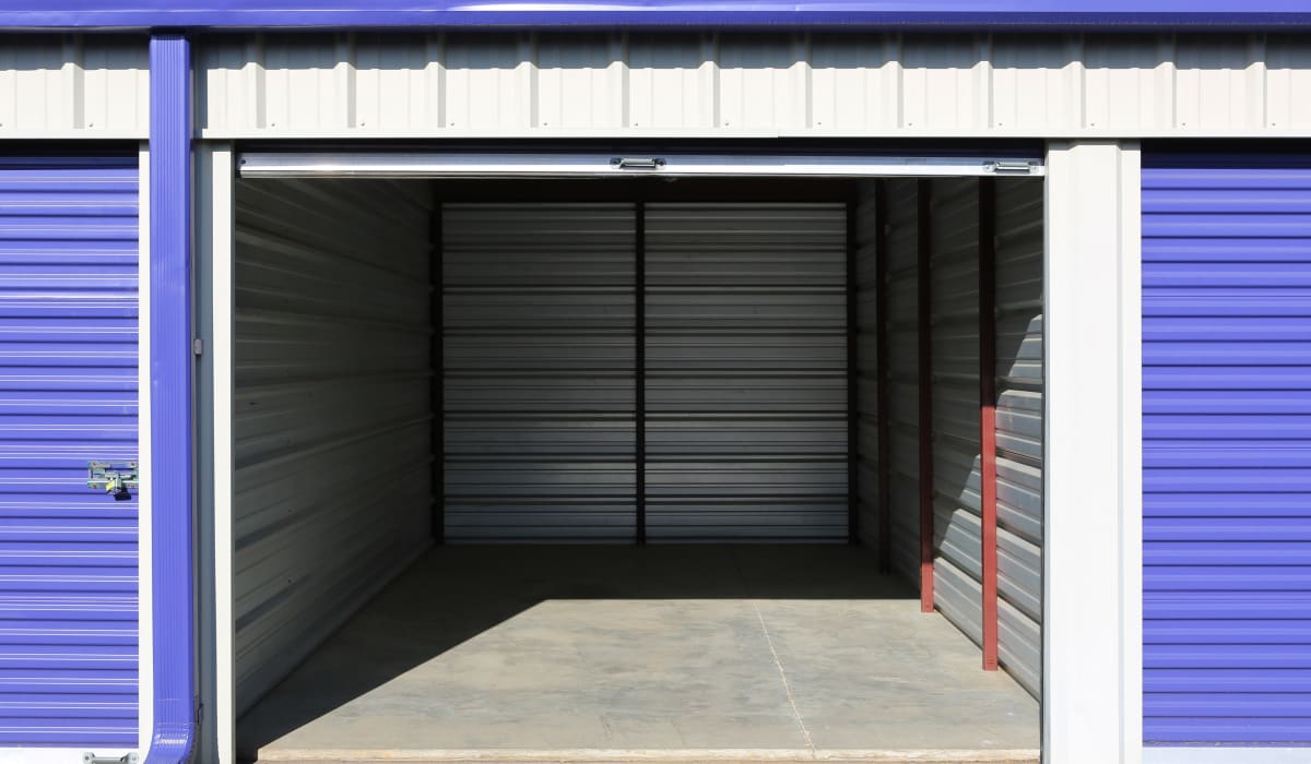Open unit at StoreSmart Self-Storage in Conway, Arkansas