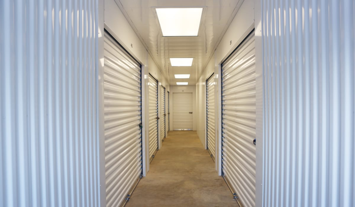 Interior units at StoreSmart Self-Storage in Watkinsville, Georgia