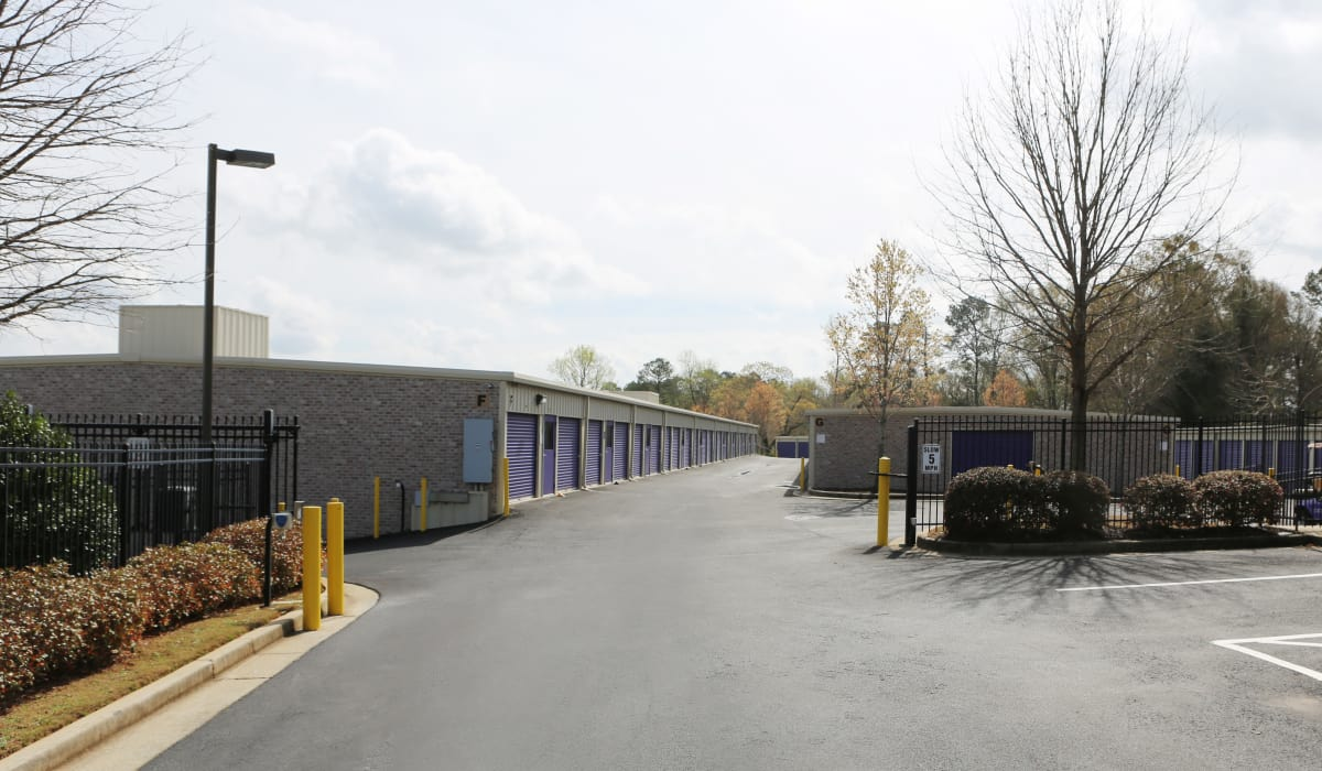 Entrance to StoreSmart Self-Storage in Watkinsville, Georgia