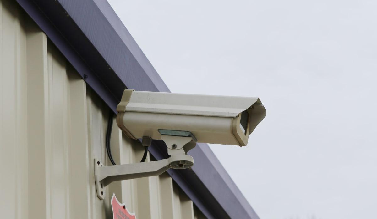 Security camera at StoreSmart Self-Storage in Warner Robins, Georgia