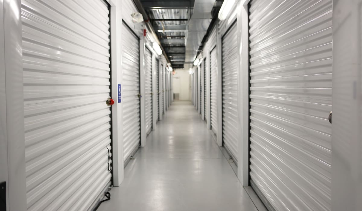 Interior units at StoreSmart Self-Storage in Spring Lake, North Carolina