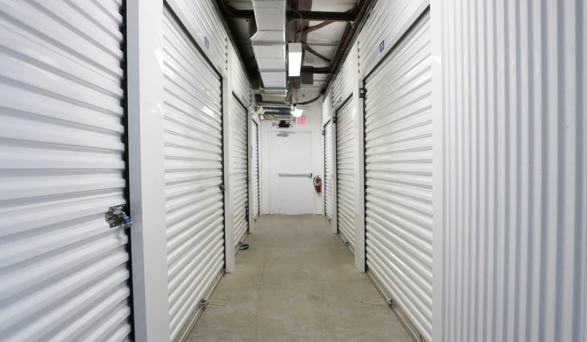Interior units at StoreSmart Self-Storage in Spring Hill, Florida