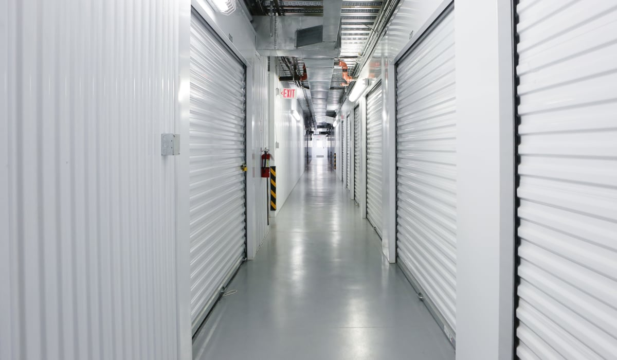 interior units at StoreSmart Self-Storage in Raleigh, North Carolina