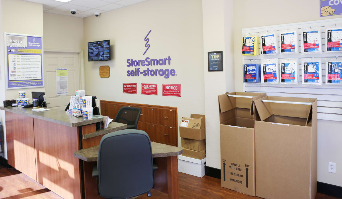 Office at StoreSmart Self-Storage in Rockledge, Florida