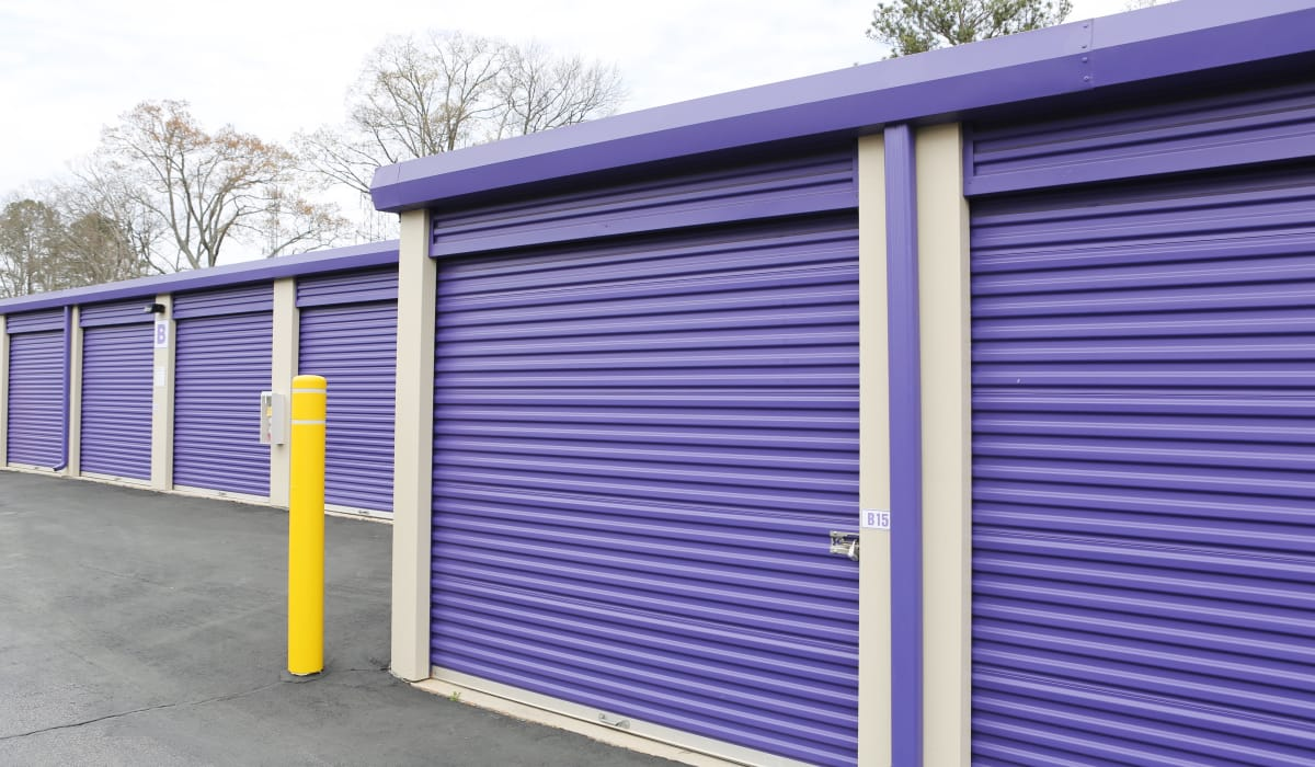 Ground-floor units at StoreSmart Self-Storage in Riverdale, Georgia