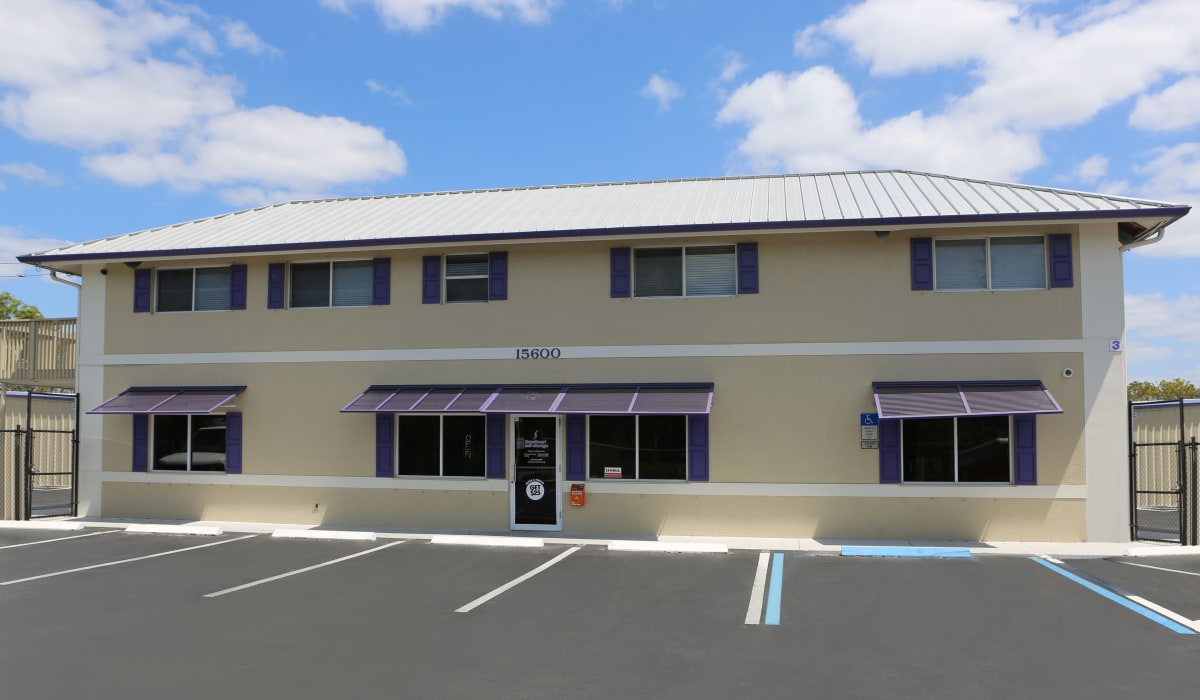 Office at StoreSmart Self-Storage in Naples, Florida