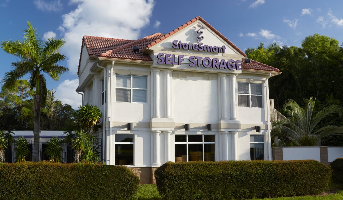 Exterior at StoreSmart Self-Storage in Naples, Florida