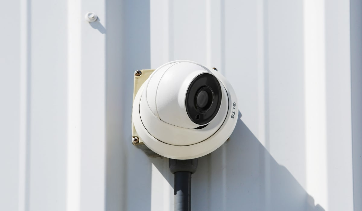 Right facing camera at StoreSmart Self-Storage in Melbourne, Florida