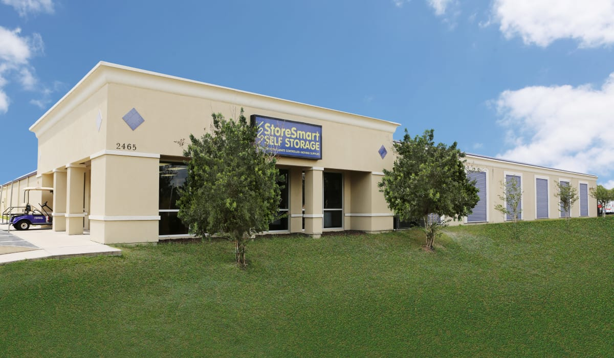 Exterior of StoreSmart Self-Storage in Spring Hill, Florida
