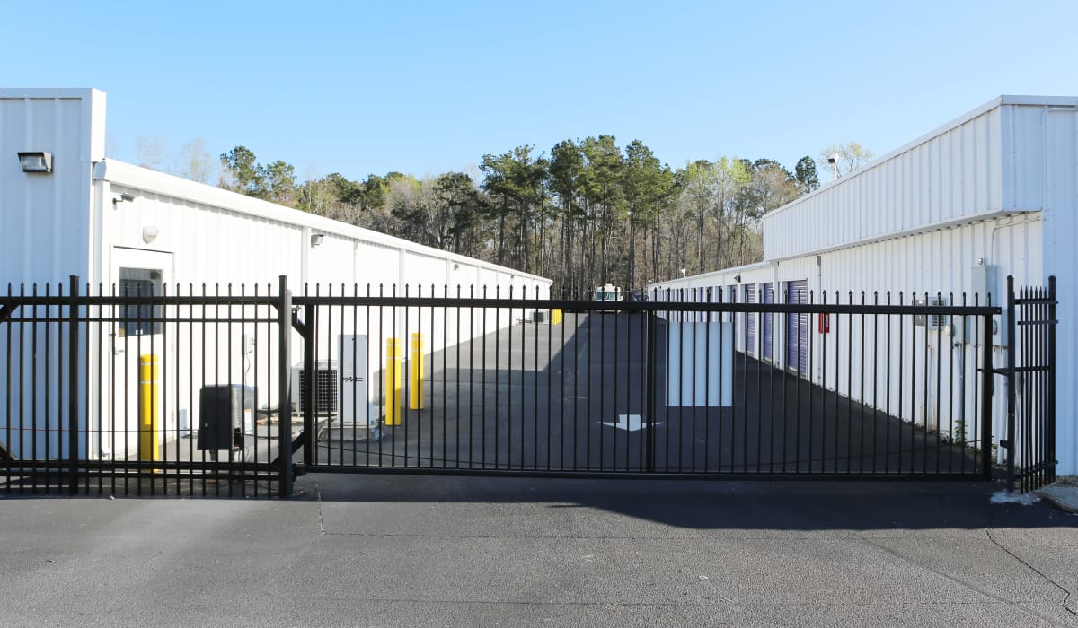 Gate at StoreSmart Self-Storage in Summerville, South Carolina