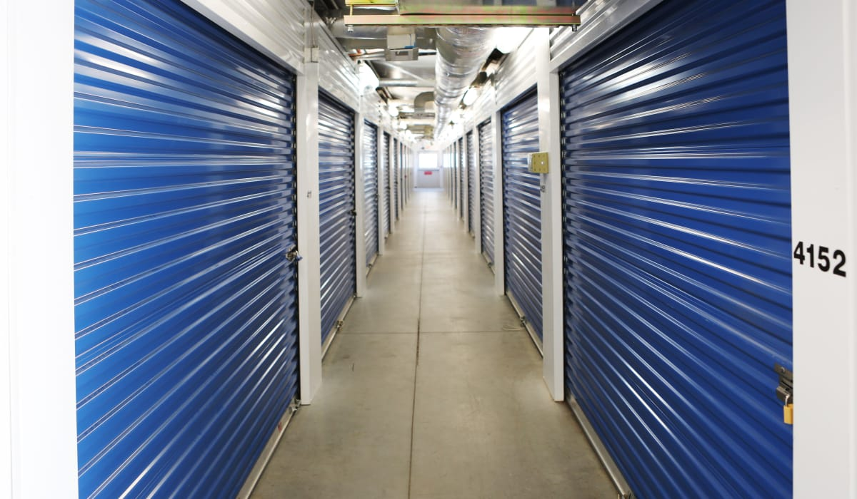 Interior units at StoreSmart Self-Storage in Summerville, South Carolina