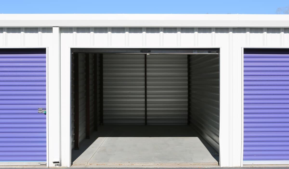 Open unit at StoreSmart Self-Storage in Summerville, South Carolina