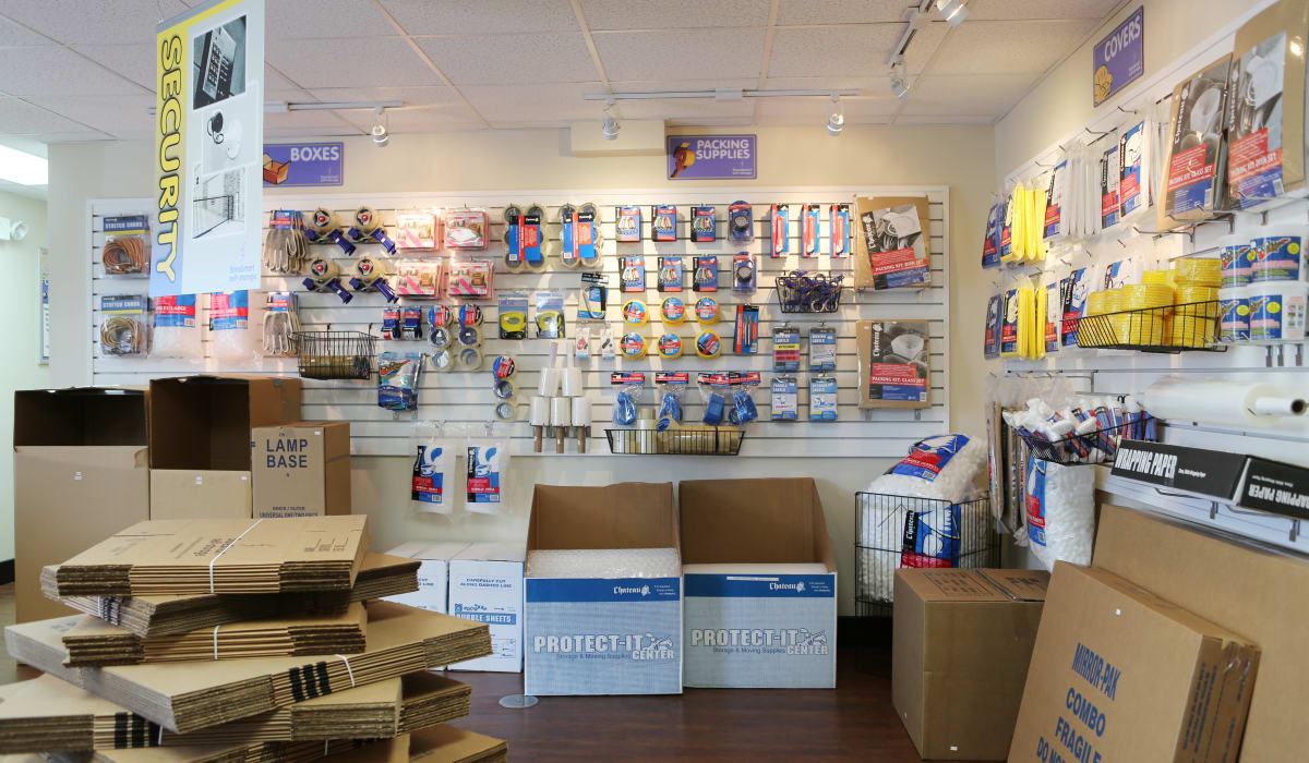 Some of our Packing supplies at Midgard Self Storage in Bradenton, Florida