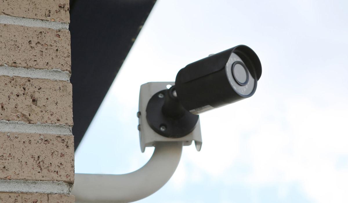 Security camera at Friendly Self Storage in Gypsum, Colorado
