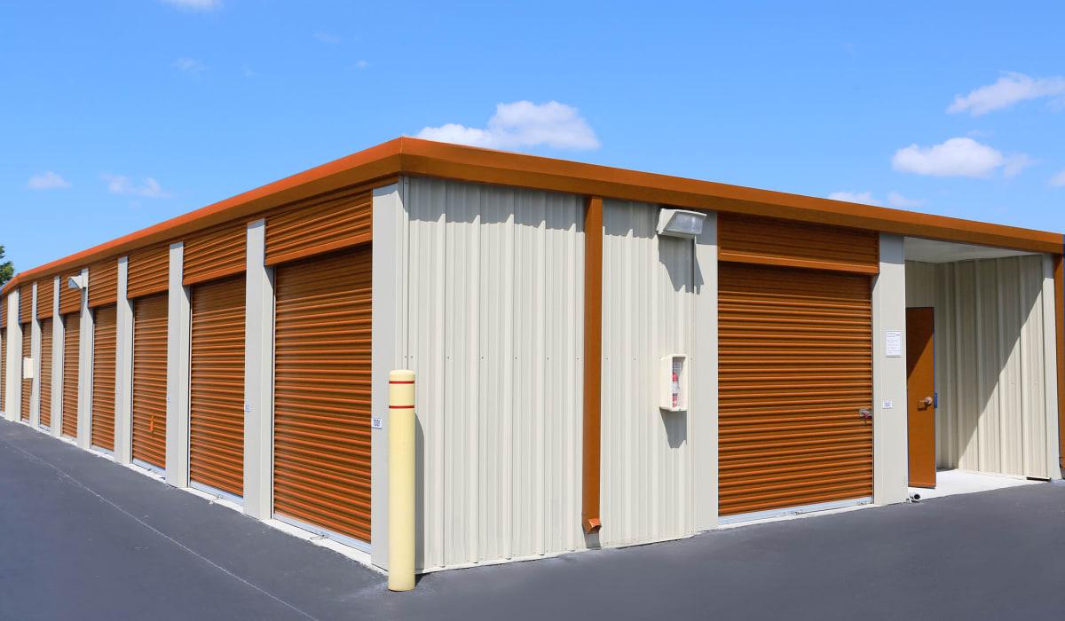 Exterior units at Friendly Self Storage in Gypsum, Colorado