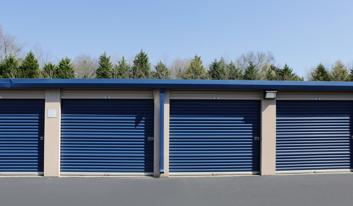 Exterior Units at Midgard Self Storage in Springfield, Tennessee