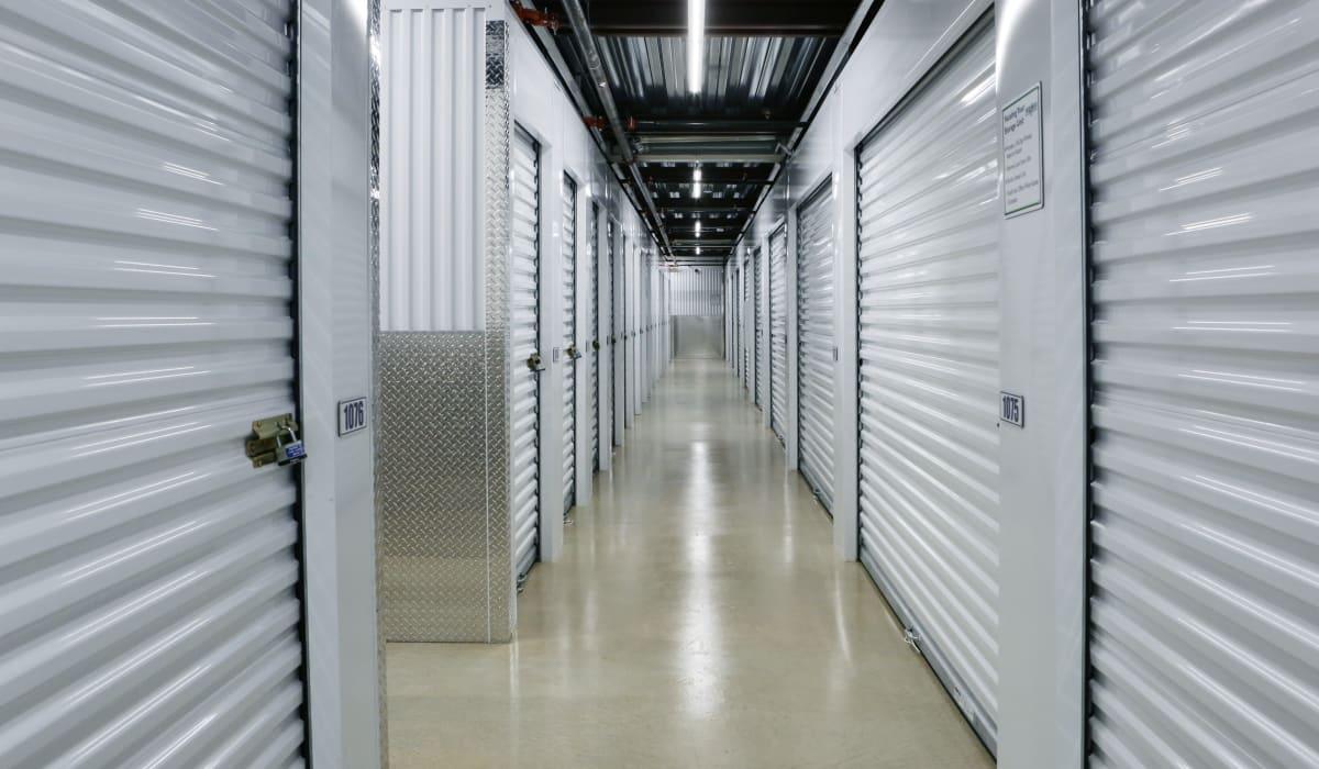 Interior units at Midgard Self Storage in Gainesville, GA