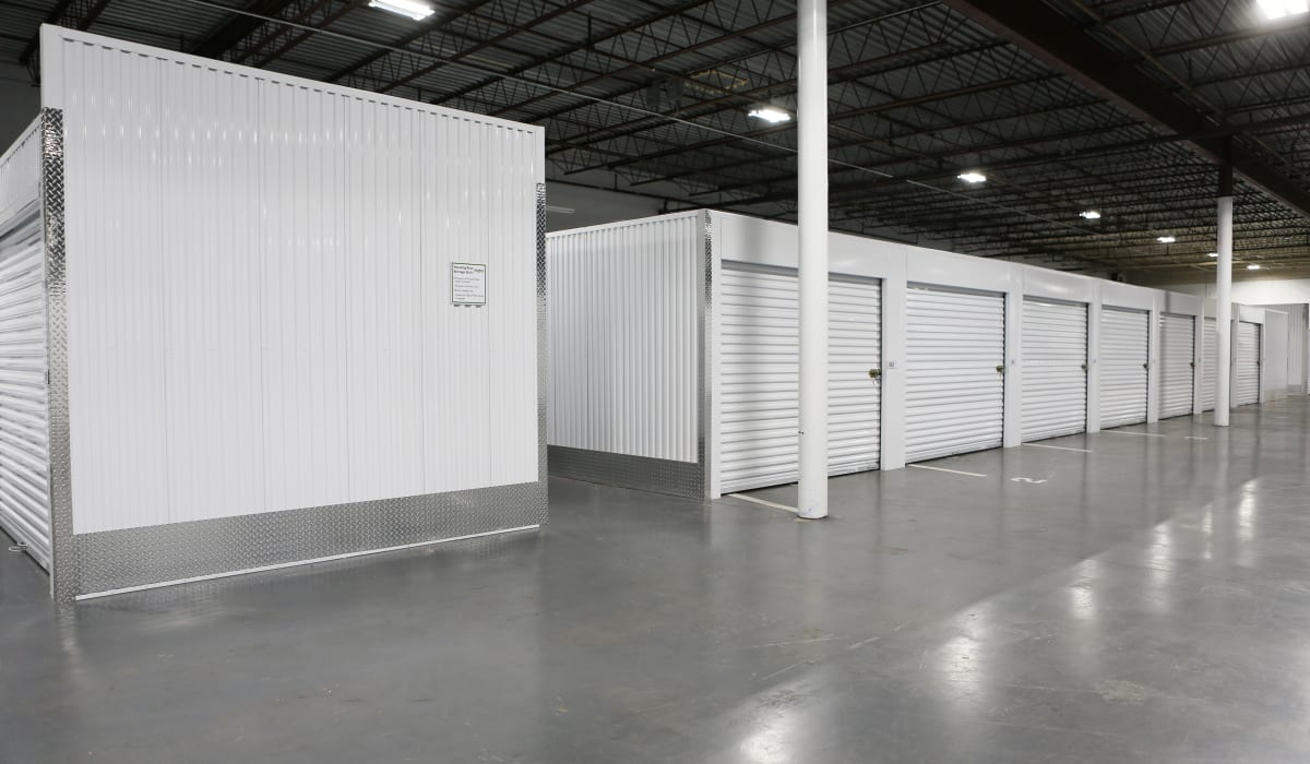 Interior units at Midgard Self Storage in Greenville, SC