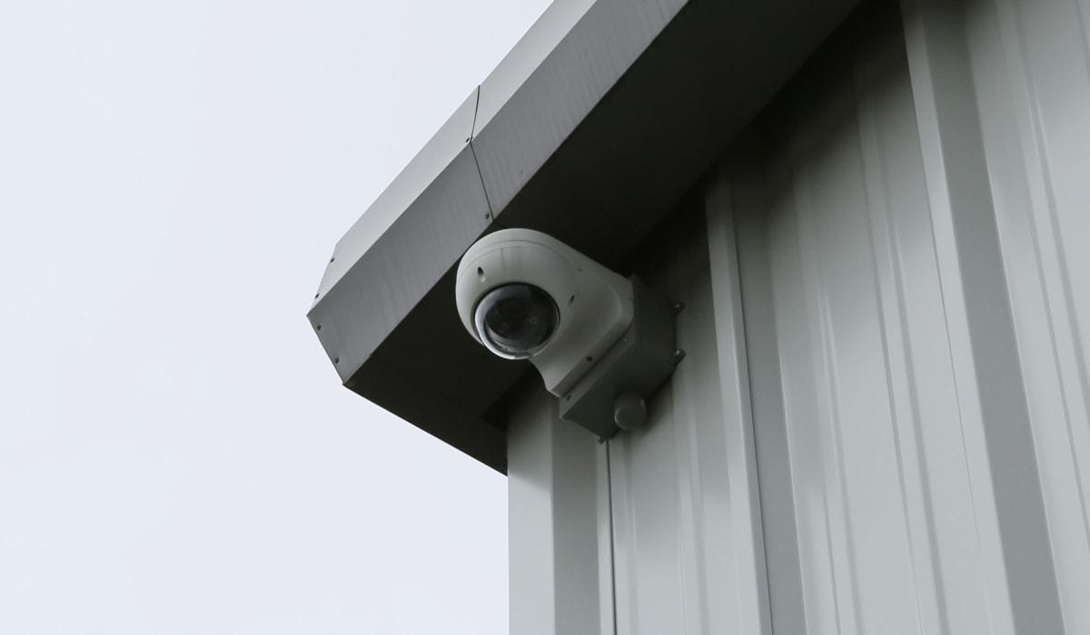 Security cameras at Midgard Self Storage in Lake Wylie, South Carolina
