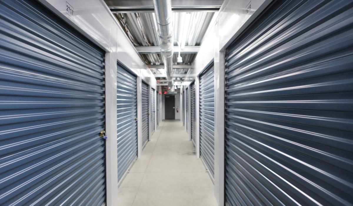 Interior units at Midgard Self Storage in Lake Wylie, South Carolina