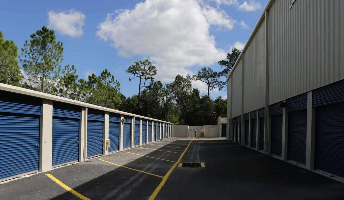 Exterior units. at Midgard Self Storage in Bradenton, FL