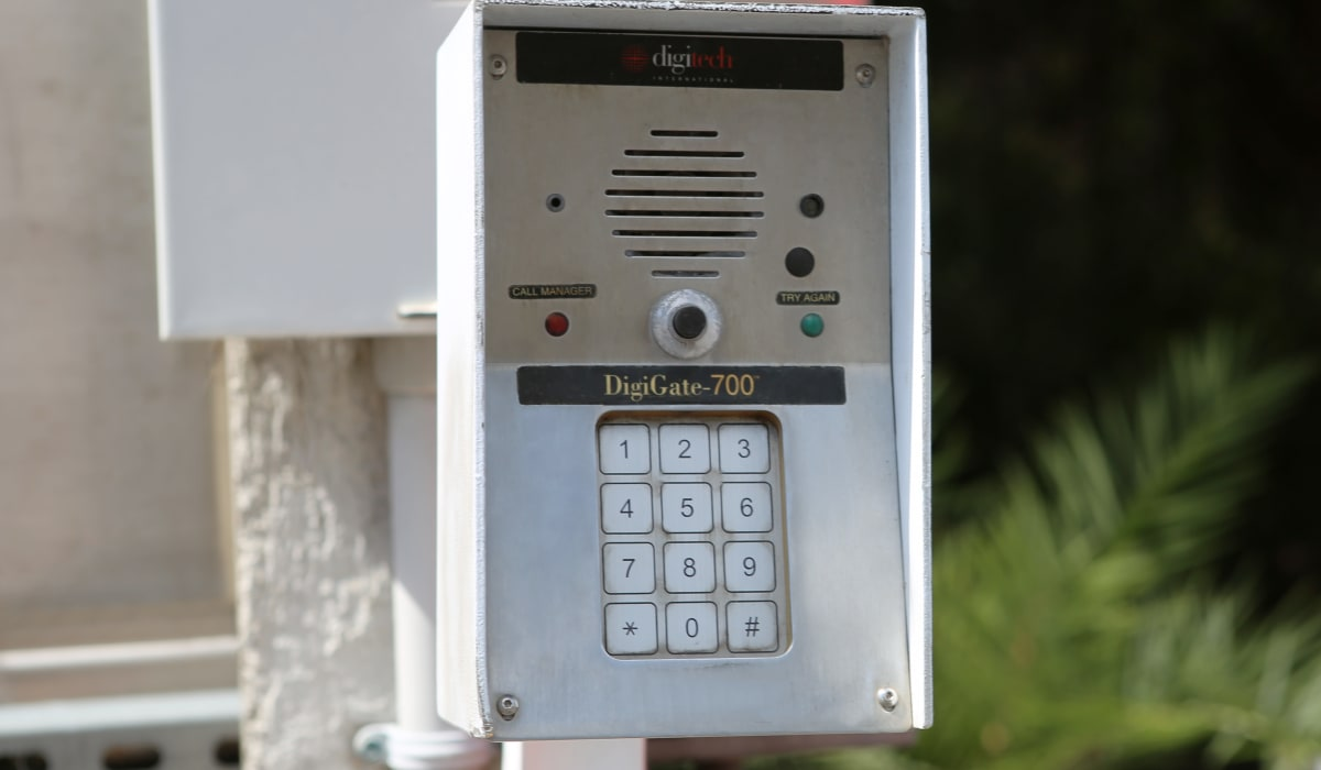 Keypad at Midgard Self Storage in Bradenton, FL