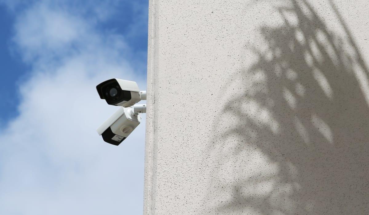 Security cameras at Jupiter Park Self Storage in Jupiter, FL