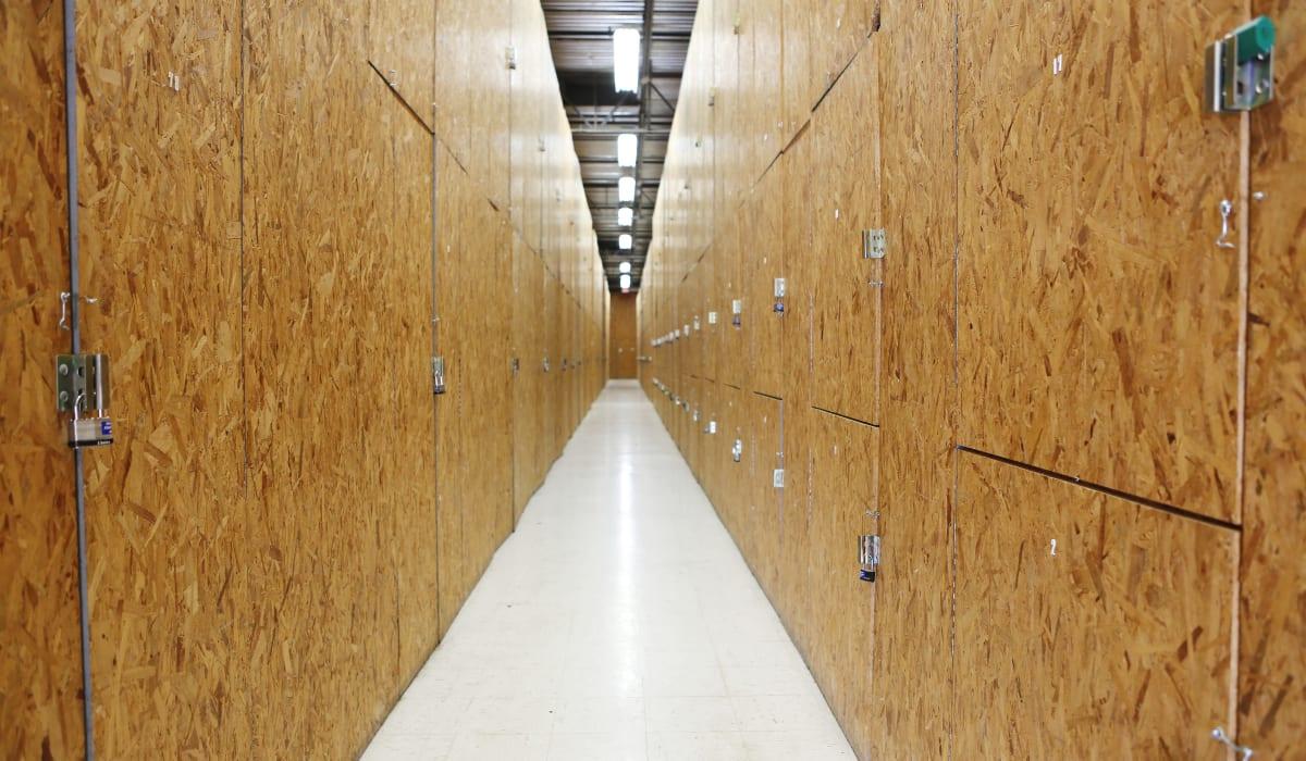 Construction for interior units at Jupiter Park Self Storage in Jupiter, FL