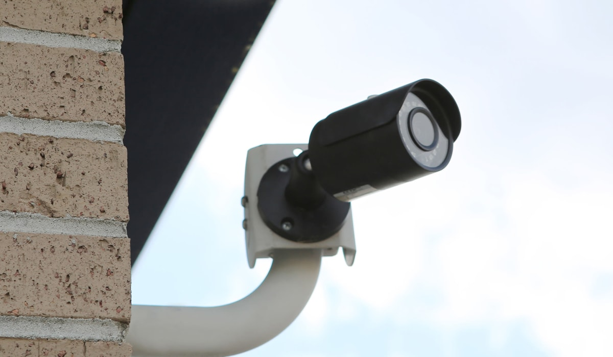 security camera at Midgard Self Storage in Murrells Inlet, South Carolina