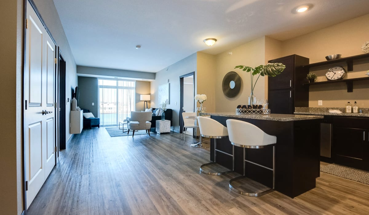 Spacious open-concept floor plan at Remington Cove Apartments in Apple Valley, Minnesota
