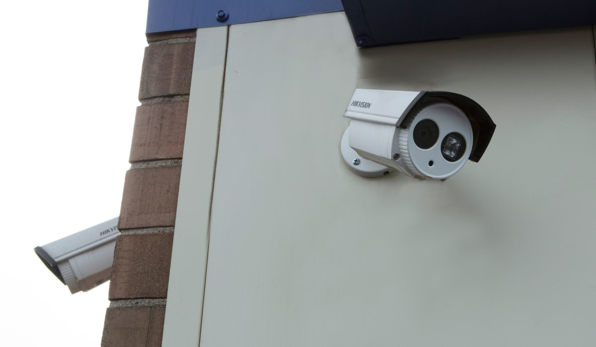 Security camera at Midgard Self Storage in Murfreesboro, TN