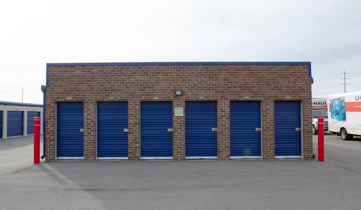 Storage units at Midgard Self Storage in Murfreesboro, TN