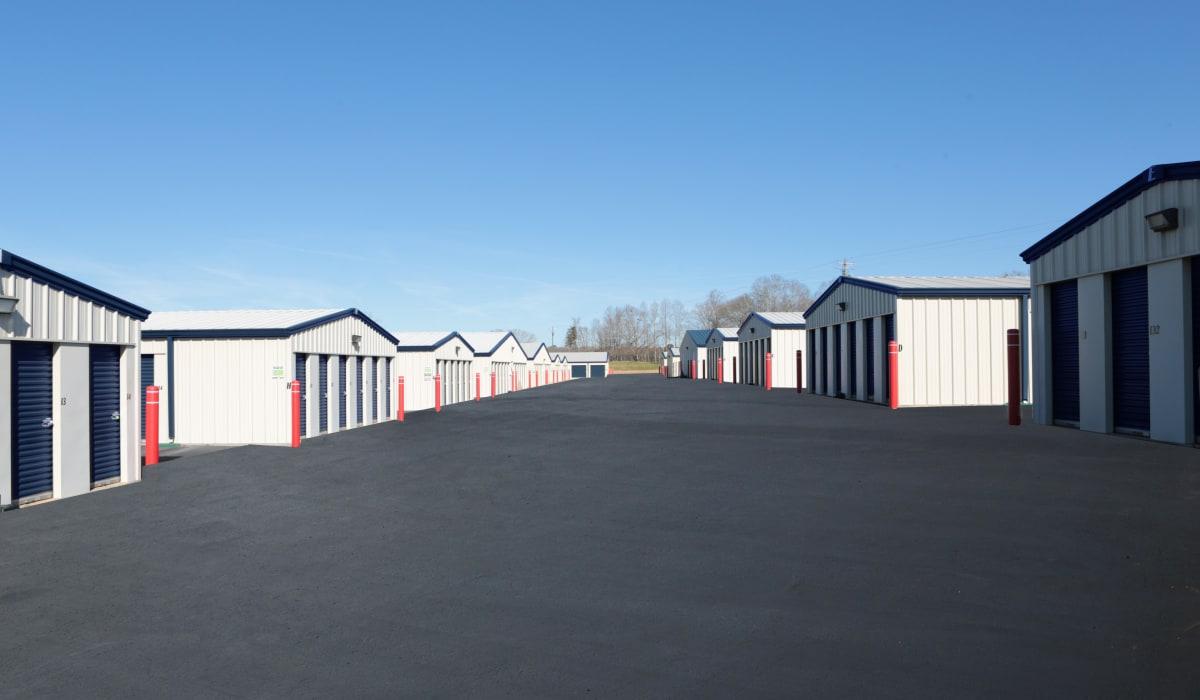 Units at Midgard Self Storage in Eastanollee, Georgia