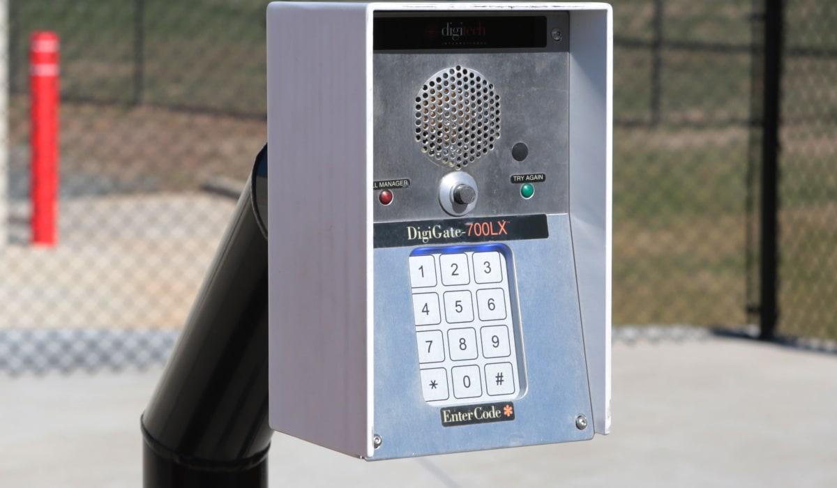 Keypad for Midgard Self Storage in Eastanollee, Georgia