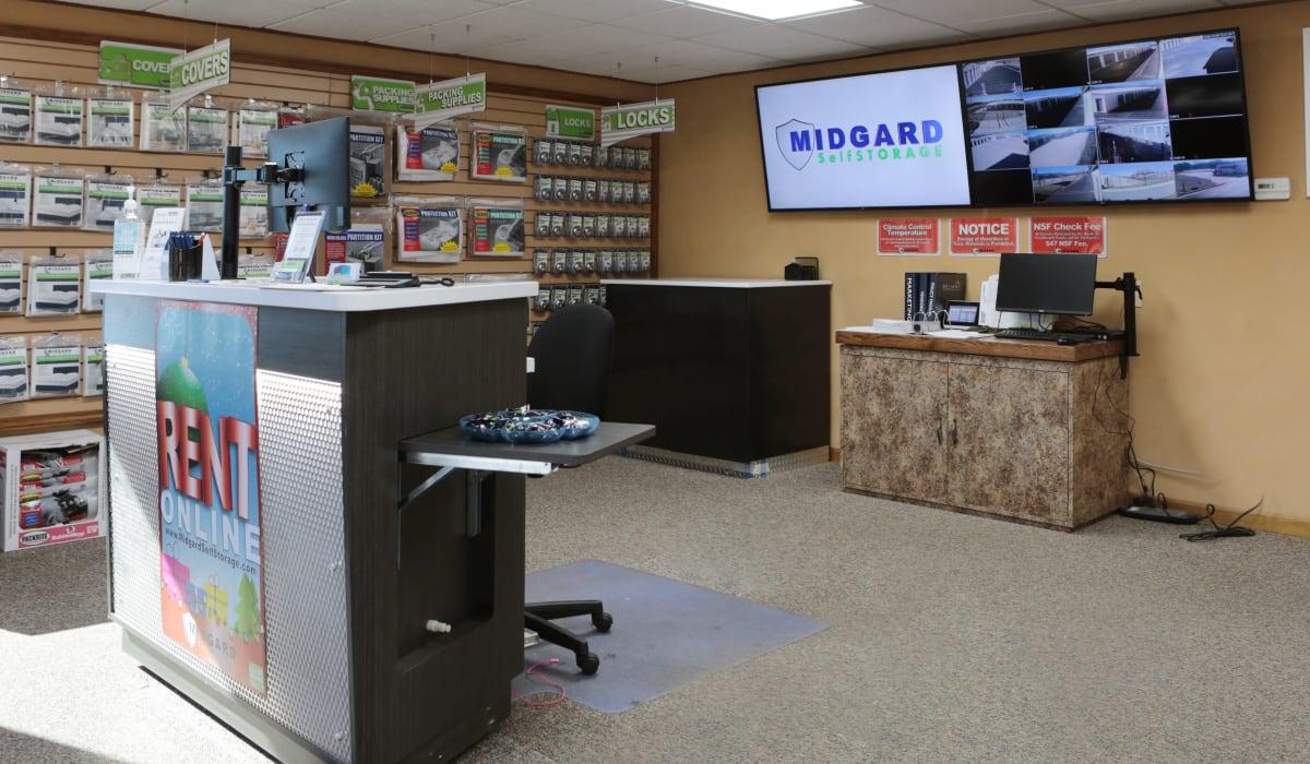 Office of Midgard Self Storage in Eastanollee, Georgia