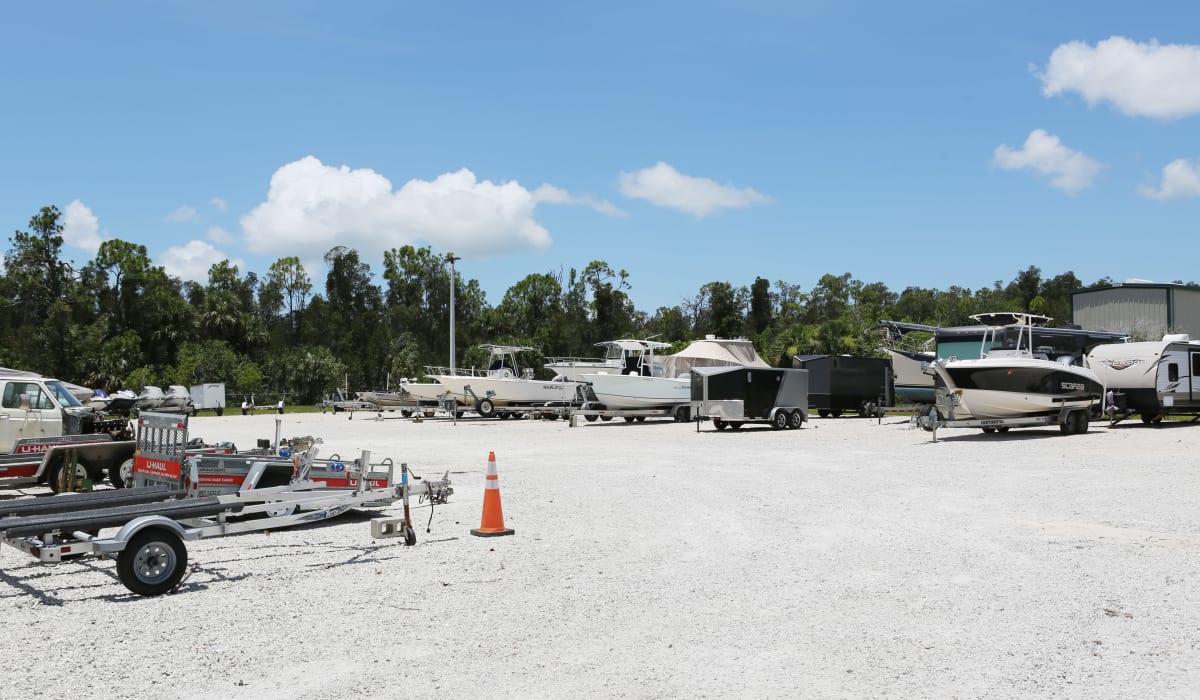 RV lot at Midgard Self Storage in Naples, FL