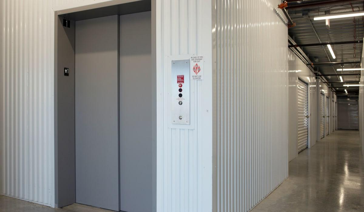Elevator at Midgard Self Storage in Naples, FL