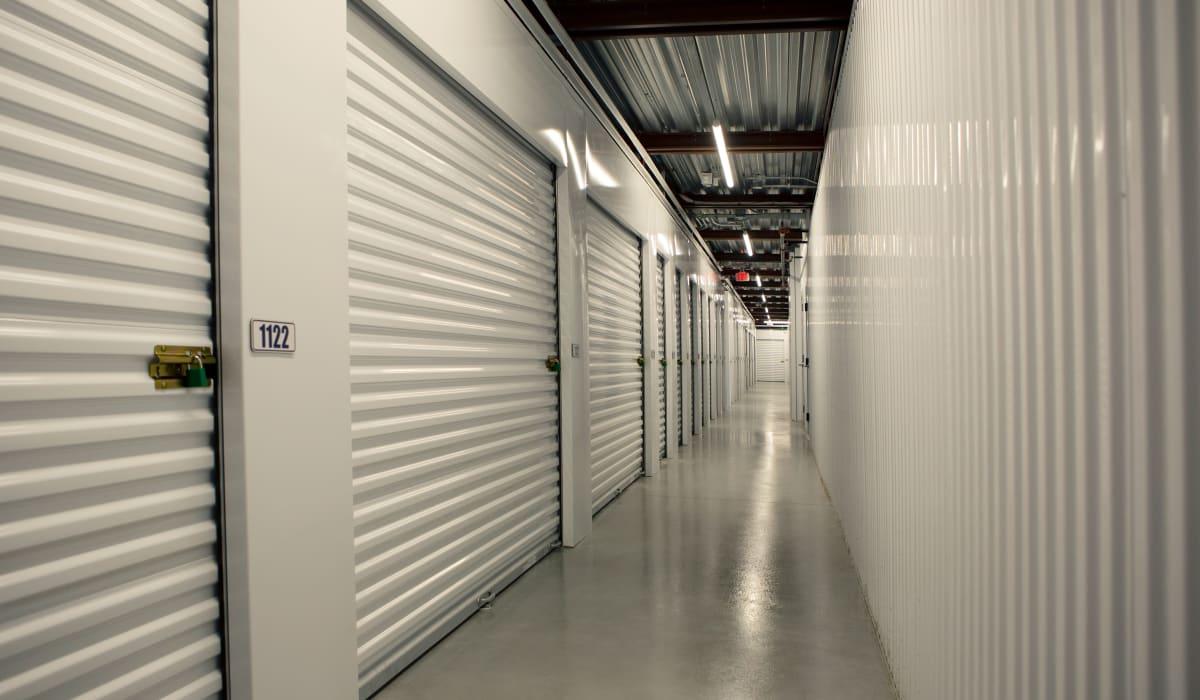 Internal storage units at Midgard Self Storage in Naples, FL