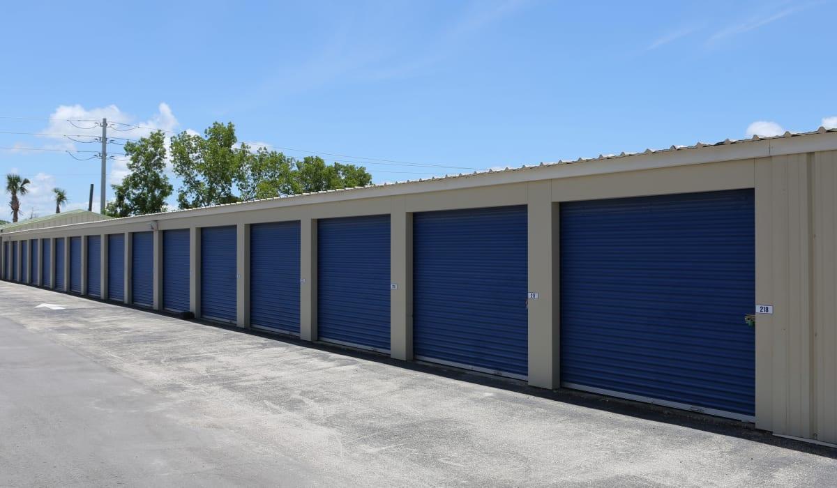 External storage units at Midgard Self Storage in Naples, FL