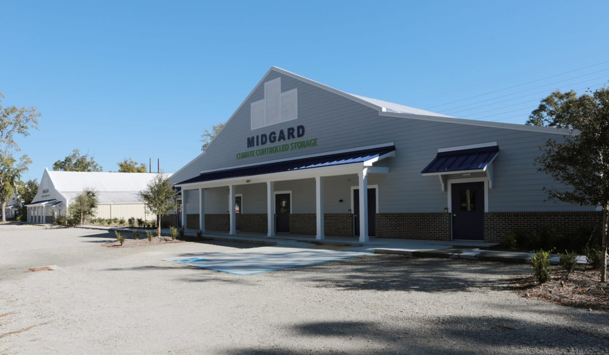 Front office at Midgard Self Storage in Murrells Inlet, SC