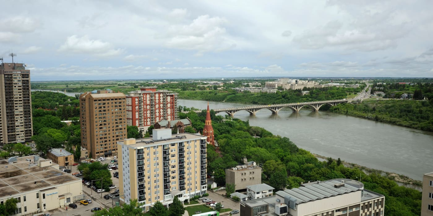 Great views at Saskatoon Tower